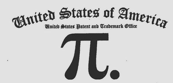 Markenanmeldung Pi-Abbildung