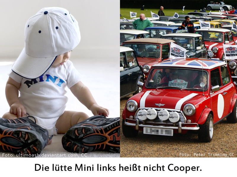 Mini nicht Cooper